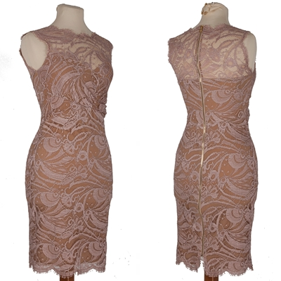 Pucci, Blush Lace Dress - £398