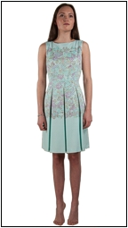 bertie-golightly-tahari-turquoise-dress
